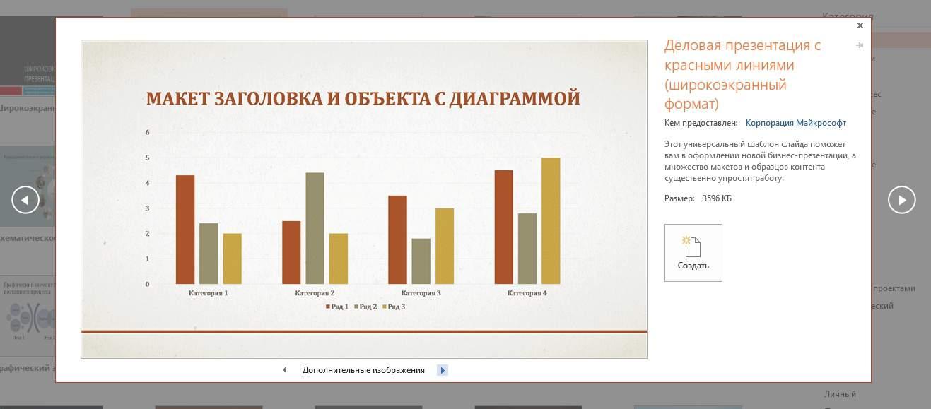 Самый простой способ бесплатно скачать шаблон или тему презентации PowerPoint